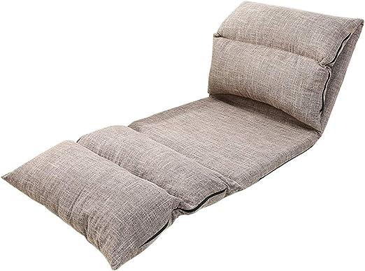 Chaise de Sol Pliante GY, canapé Lazy Sofa, Support de Dos