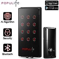 PopuLife V4 Smart Keyless Deadbolt Waterproof Electronic Door Locks