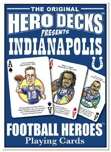 Hero Decks - Indianapolis Colts - Playing Cards (Tony Colts)