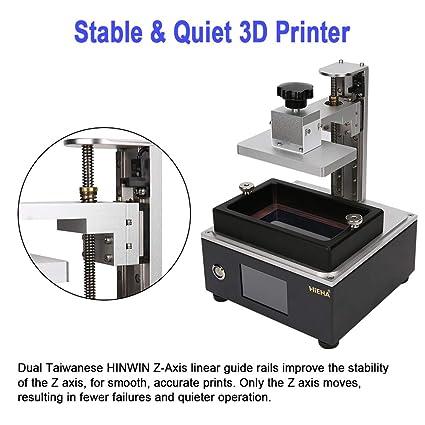 Hieha SQ2 UV Impresora 3D con 3.5 Smart con reanudar la ...