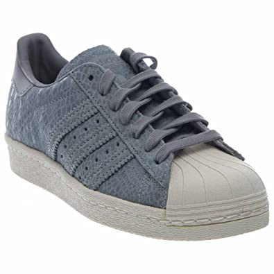 6ed306ea458ea adidas Superstar 80S Casual Women's Shoes Size 9.5 Gray/White