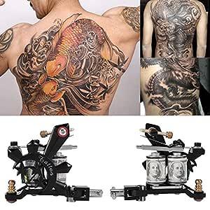 Maquina de Tatuaje,Profesional Kit de Tatuaje Maquina para Tatuar ...