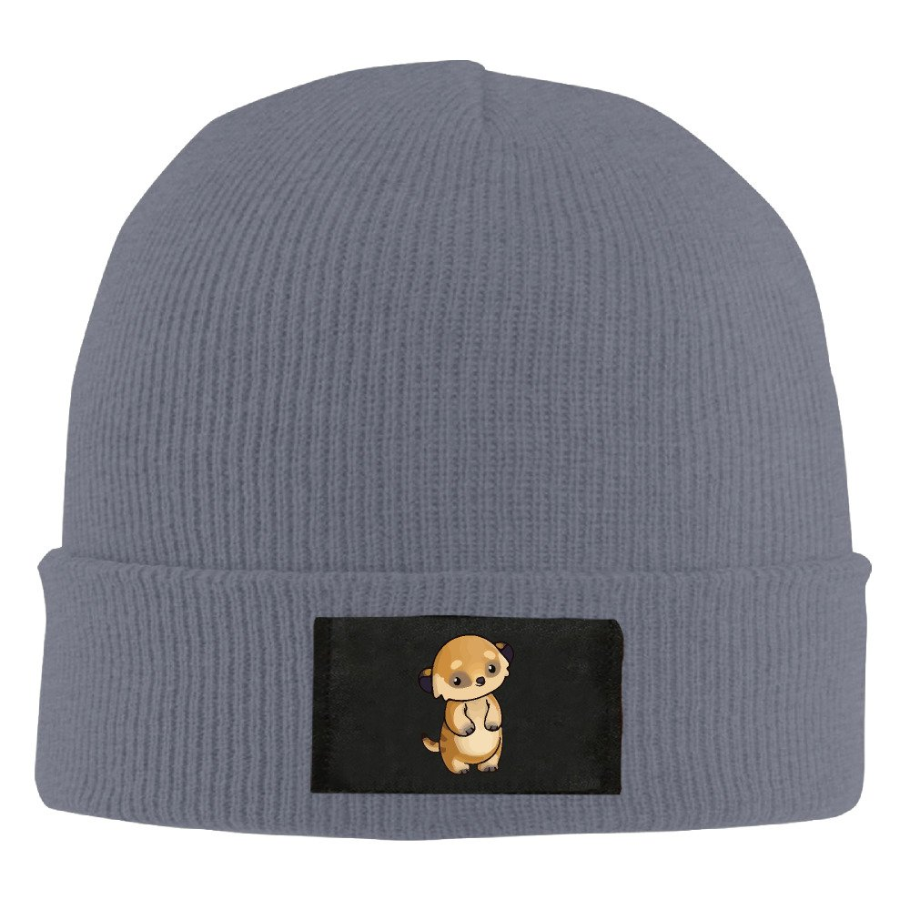 Runningway Little Cute Meerkat Knit Winter Beanie Hat Skull Cap Unisex