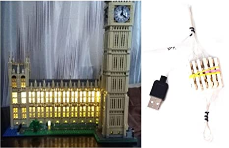 Arundel services eu kit di illuminazione a led per lego big ben