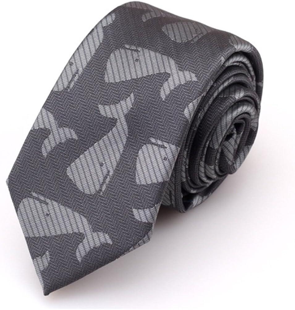 Huyizhi Corbata formal de negocios Hombre de dibujos animados gris ...