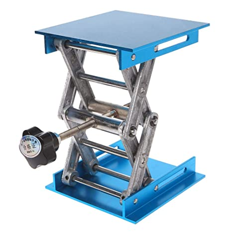 Router elevador de aluminio para mesa de carpintería, grabado de ...