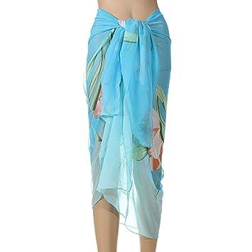 Playa, diseño De falda Sarong Pareo De baño, diseño De flor De ...