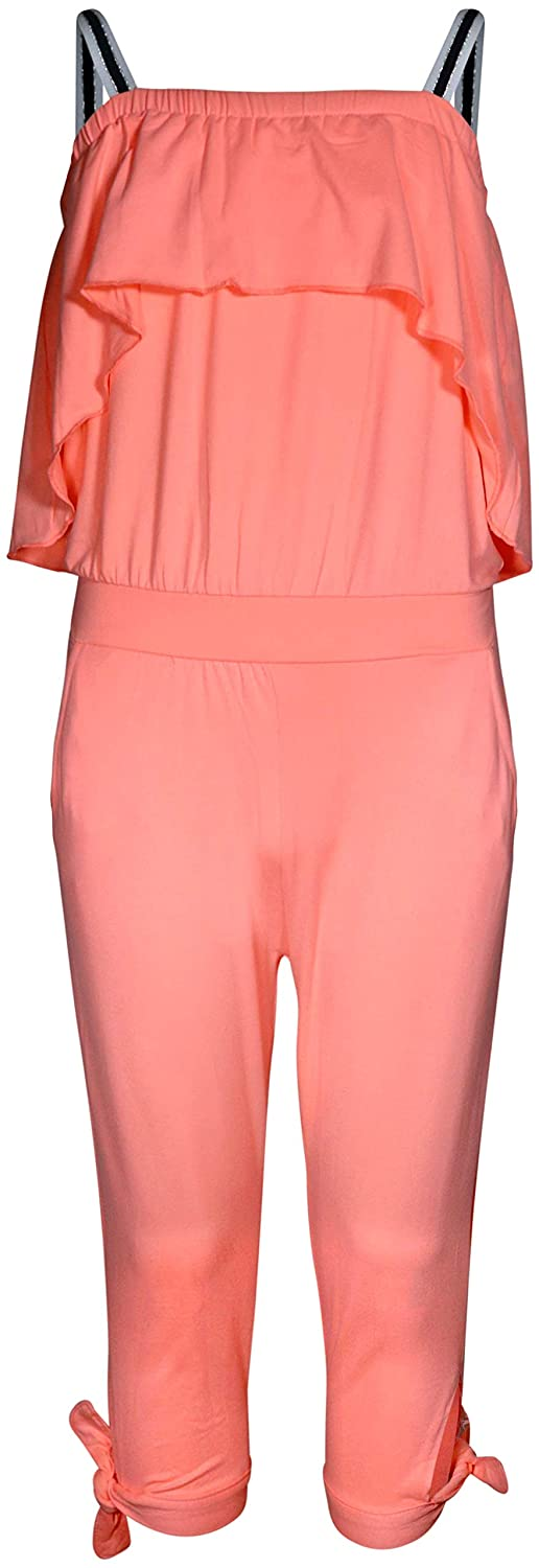 Limited Too Girls Capri Jumpsuit and Head Band Set