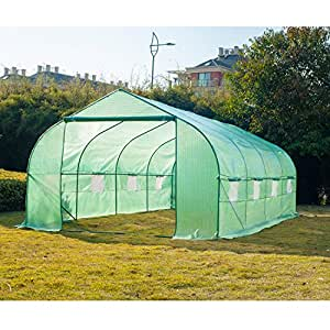 New MTN-G 20'×10'×7' Larger Green House Walk in Greenhouse Outdoor Plant Gardening