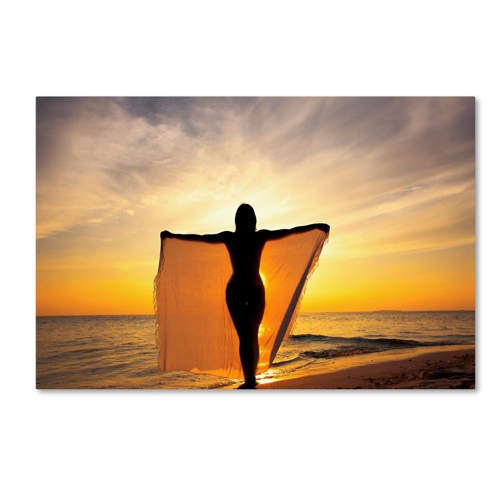 Beachy 28 byロバートハーディング画像ライブラリ、30 x 47-inchキャンバス壁アート B075ZWRLZR