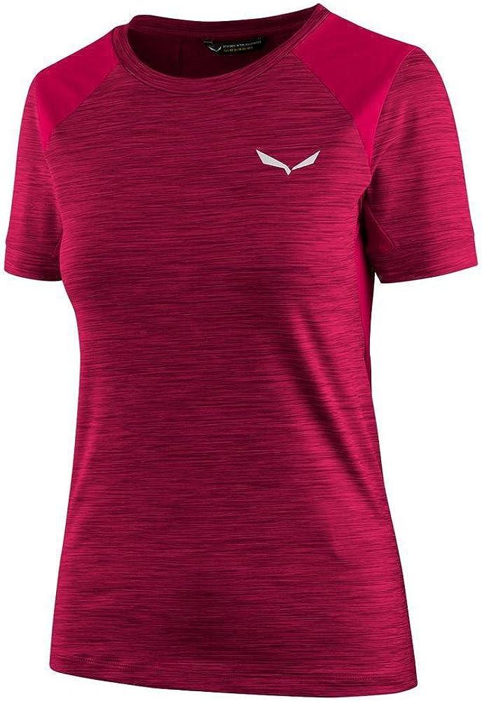 SALEWA pedroc Hybrid W S/S tee Camisetas