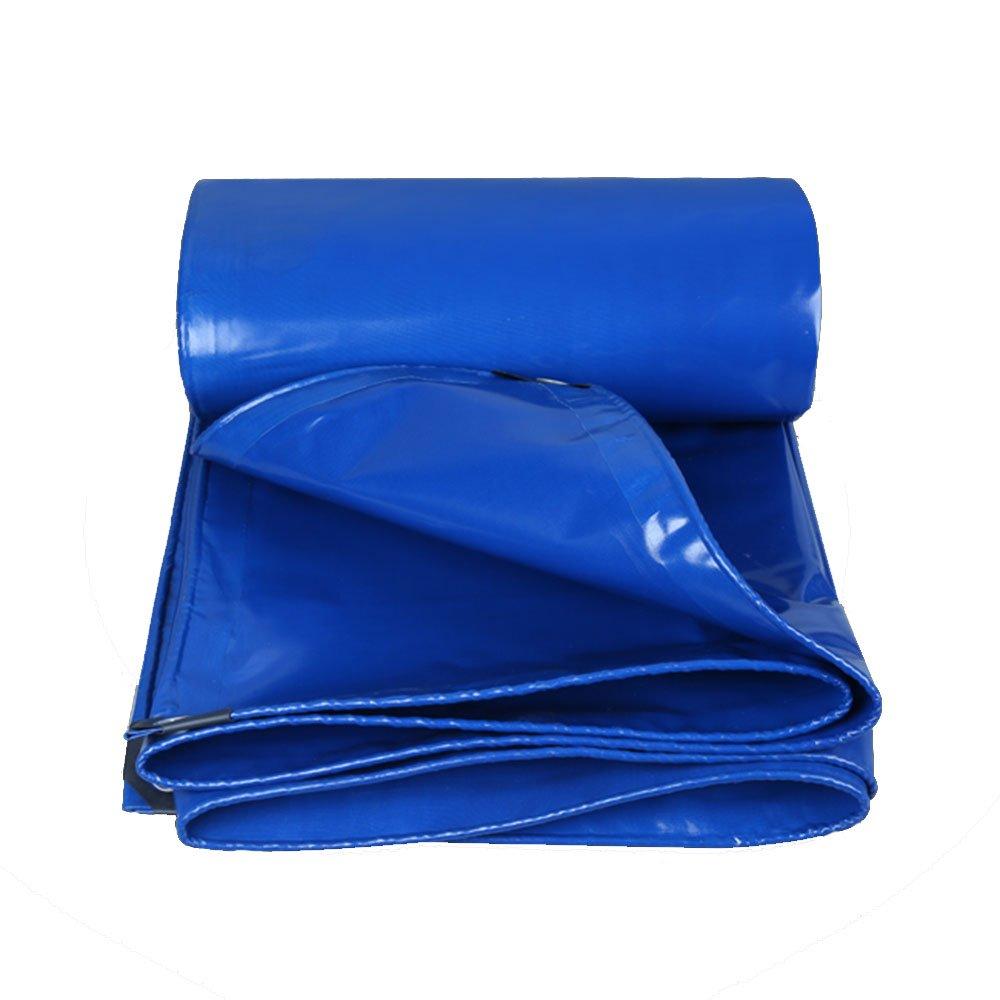 Tarpaulin HUO Plane Blätter, Wasserdichte Canopy Canvas, Anti-UV-Reissfestigkeit Für LKW (Farbe   Blau, größe   2  3m)