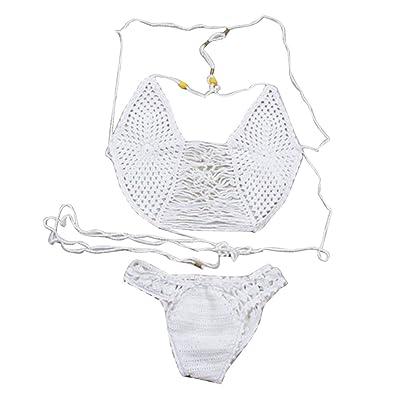 Deux Pièces Push Up Bikini Maillot de bain Plage Maillots De Bain en dentelle - Femme