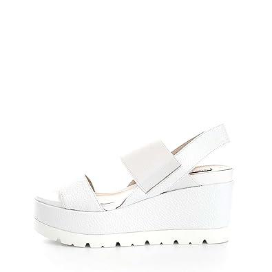 Luciano Barachini 8015V Sandales Femme White White - Chaussures Sandale Femme