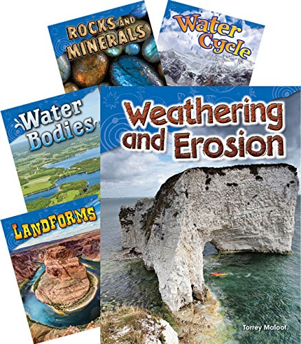 Teacher Created Materials - Science Readers: Earth and Space Science - 5 Book Set - Grade 2 by Teacher Created Materials