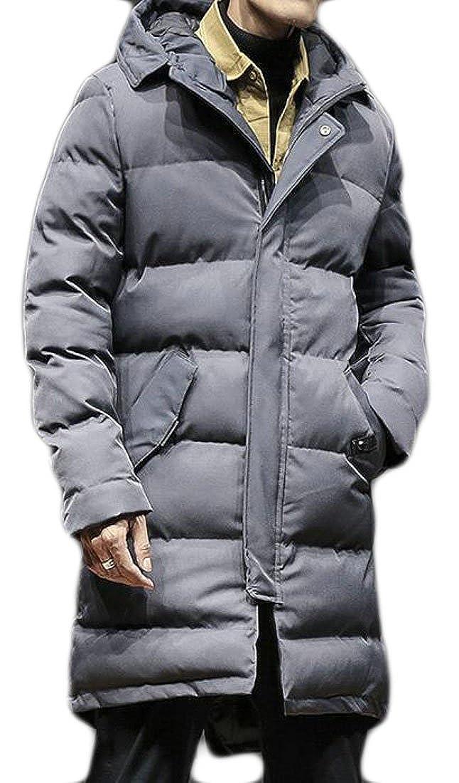 Jaycargogo Womens Fashion Winter Down Parka Puffer Jacket Coat with Hood