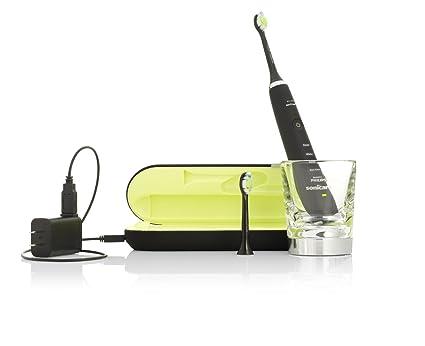 Philips Sonicare Diamond Clean - Cepillo de dientes eléctrico sónico, color negro
