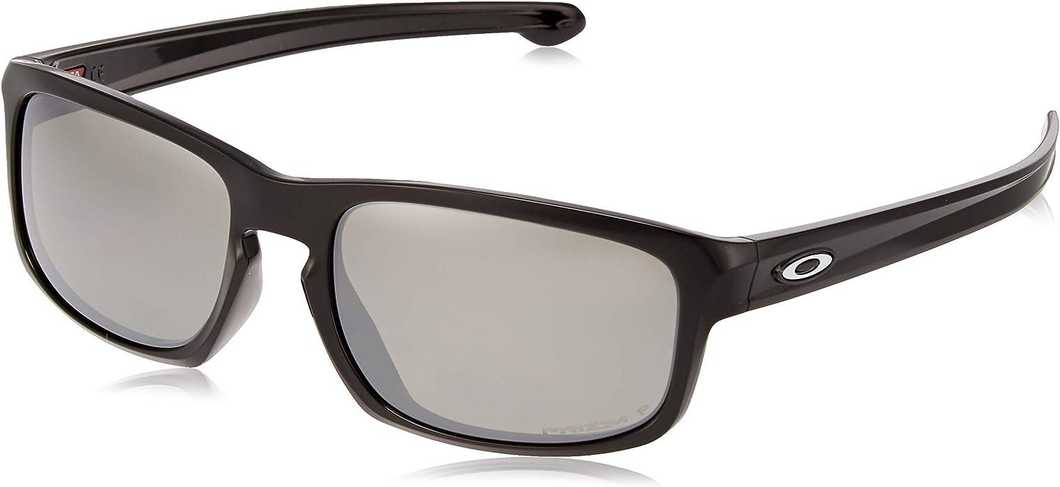 Amazon.com  Oakley Men s Sliver Stealth Asian Fit Sunglasses,OS,Polished  Black Prizm Black Iridium  Clothing f55c09caf3