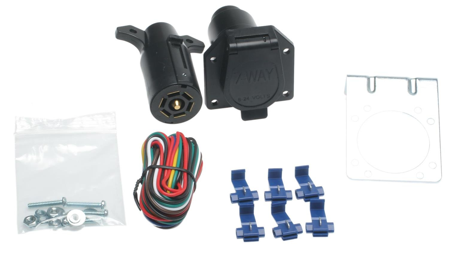 ACDelco TC312 Professional Inline to Trailer Wiring Harness Connector Kit