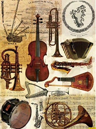 Cadence Papel de Arroz Orquesta 30x41cm Ref. 047