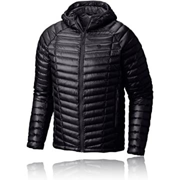Mountain Hardwear Ghost Whisperer Down Hooded Jacket - Men's Black Medium