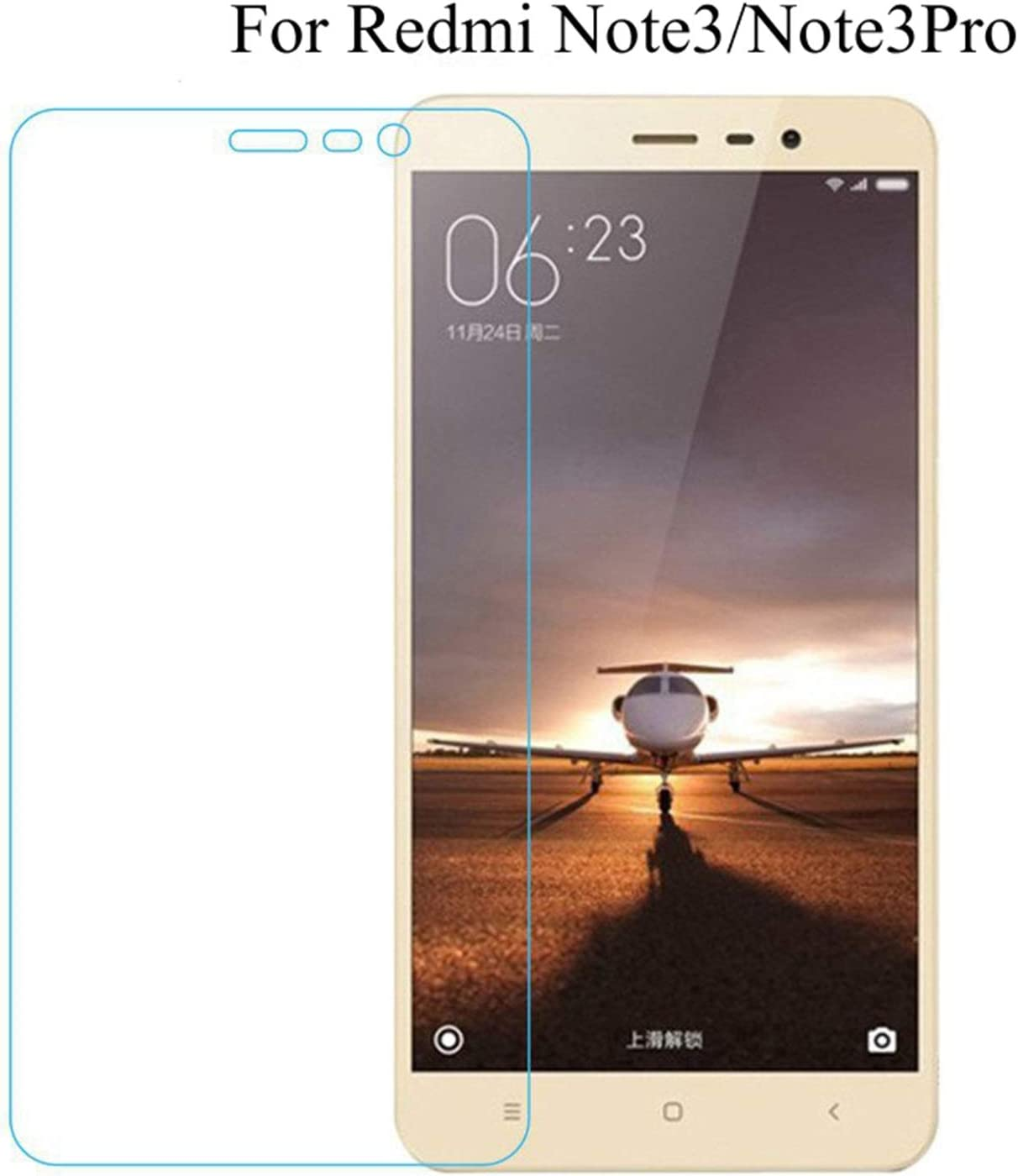 PmseK Protector de Pantalla,Vidrio Templado,Tempered Glass For Redmi Note 3 Pro SE Official Global 152 Special Edition International Version Screen Protective Cover Note 3 Pro SE 152MM