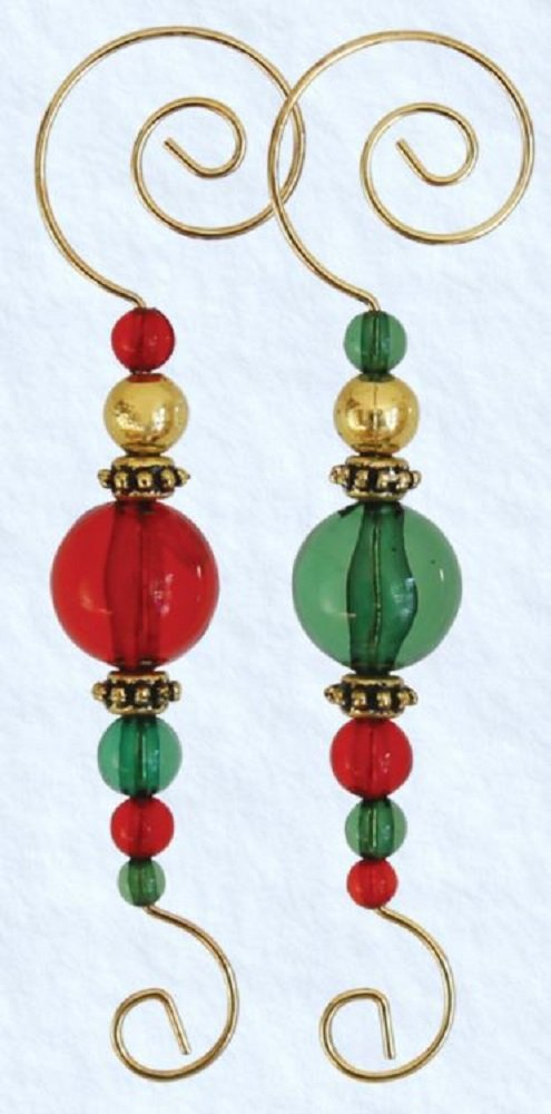 Old World Christmas Christmas Ornament Beaded Hooks (6 Pack)