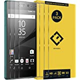 CENTAURUS Replacement for Sony Xperia Z5 Screen Protector,(3 Packs) Anti-Fingerprint Anti-Scratch High Transparency Hardness