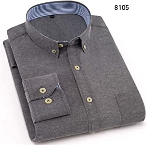 CSDM Camisa de Hombre Otoño Nuevos Hombres Camisa Slim Fit