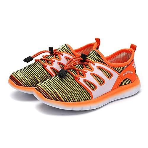f08bb552b22 Zapatos de Punto para Niños Zapatos Deportivos Zapatillas ultraligeras y  Transpirables Zapatillas Bajas Zapatillas de Correr