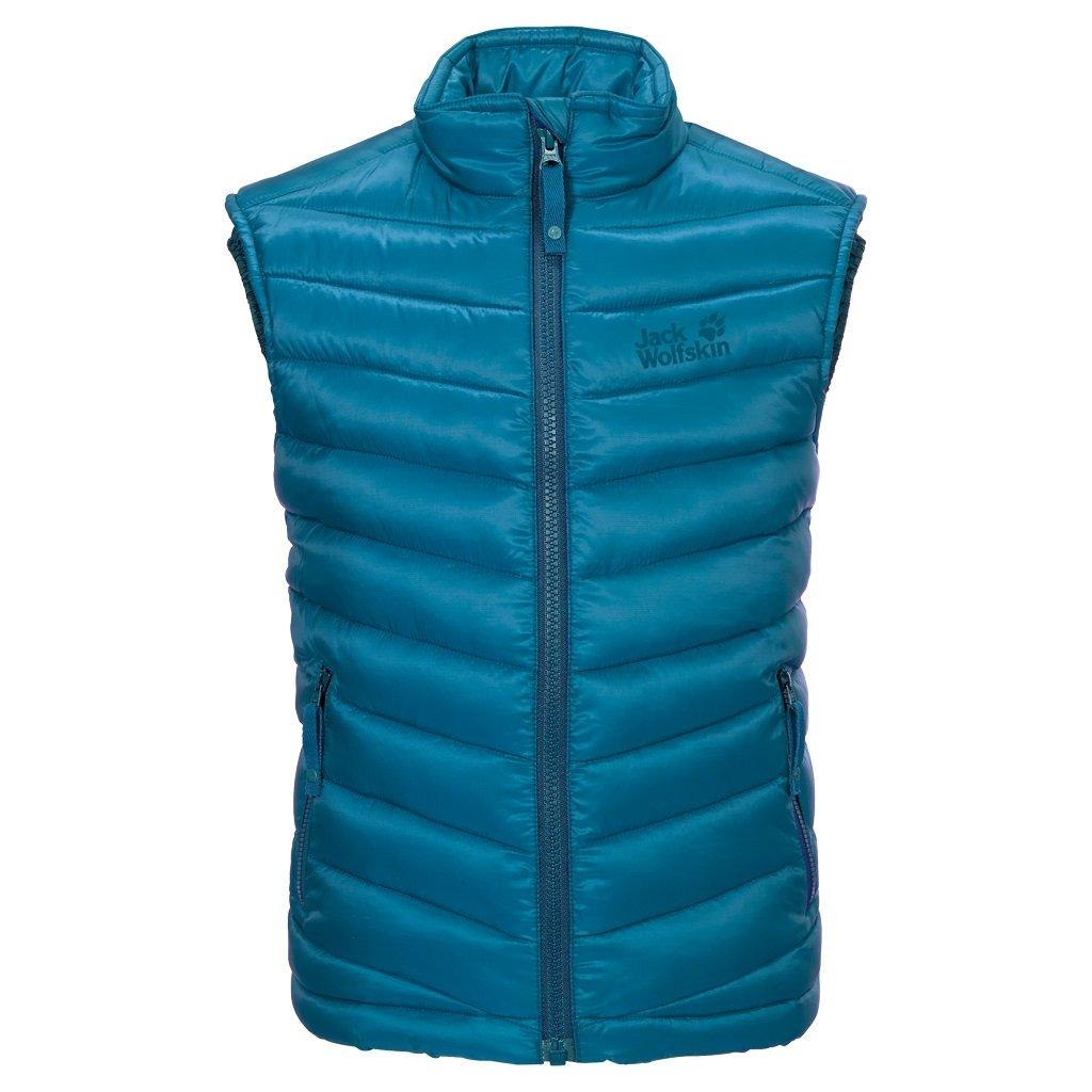 Dark turquoise 104 cm Jack Wolfskin EnfantS Ice Camp Vest