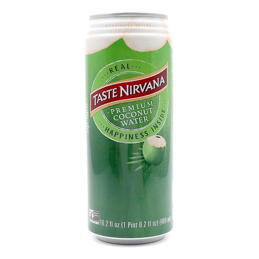 Taste Nirvana Real Coconut Water, Premium Coconut Water, 16.2 Ounce Cans (Pack of 12) by Taste Nirvana (Image #3)