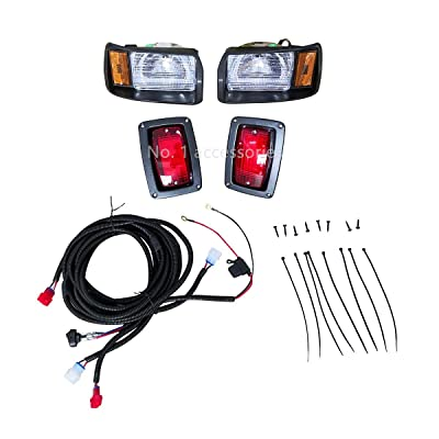 No. 1 accessories Club Car Headlights Used for DS Factory Style Passenger & Driver 101988002 101988001 Headlight and Tail Light Kit 1993 Newer (Club Car DS Headlight and Tail Light Suit): Sports & Outdoors