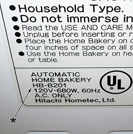 Pala de amasar para Hitachi Model #HB-B201 (también conocido como ...