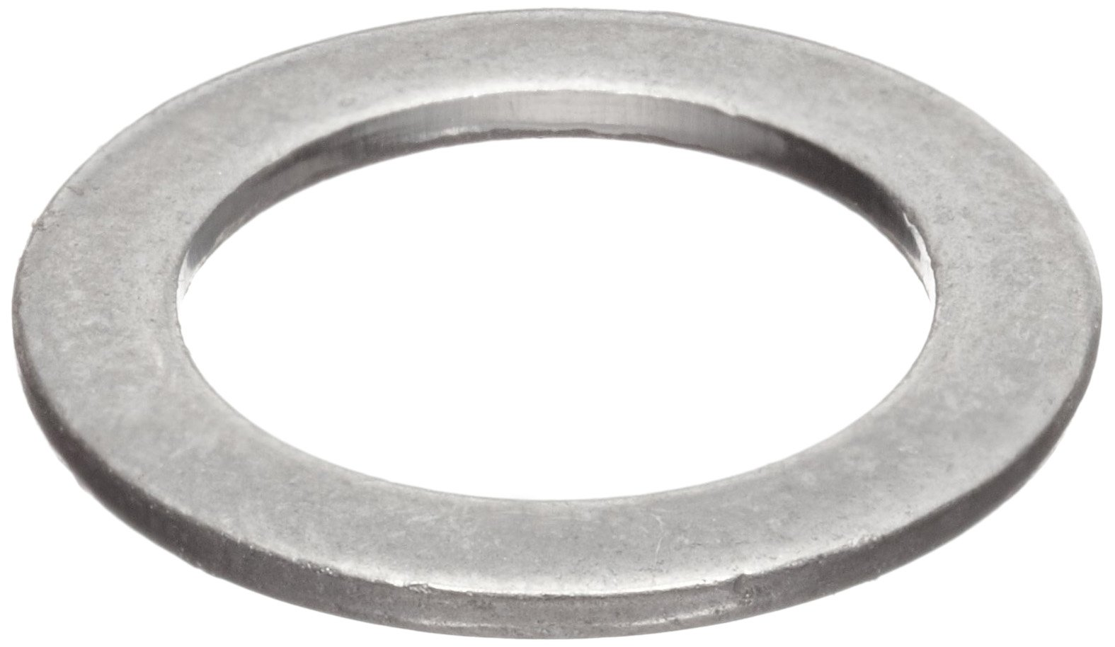 Shoulder-Shortening Shim Flat Washer, 18-8 Stainless Steel, 1/2'' Bolt Size, 0.501'' ID.750'' OD, 0.030'' Thick (Pack of 50)