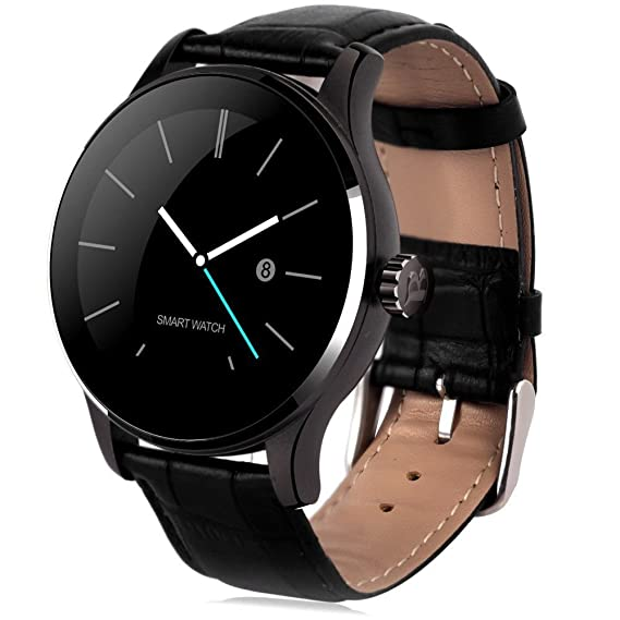 Amazon.com: Tengxu K88H Smart Bluetooth Watch Heart Rate ...