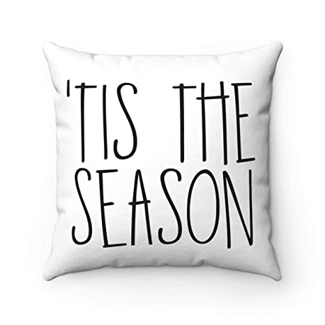 ale huang FabricMCC Throw Pillow Cover 18 Inch Quote Words ...