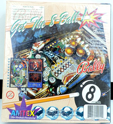 Amtex Eight Ball Deluxe Digital PinBall for Macintosh