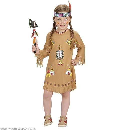 WIDMANN Desconocido Disfraz de india para niña
