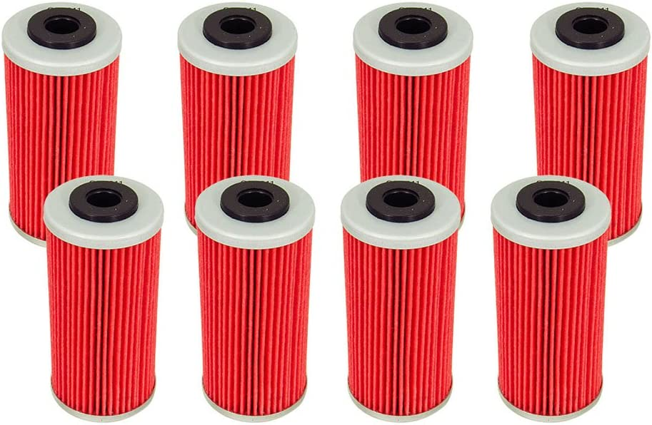 Outlaw Racing ORf611 Lot Of 4 PerFormance Oil Filter Bmw G450X Husqvarna Smr511 Offroad Motorcycles Replaces Kn611