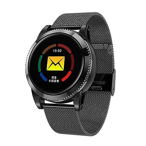 Reloj inteligente, Rastreador de ejercicios con monitor de ritmo cardíaco Rastreador de sueño, Pantalla