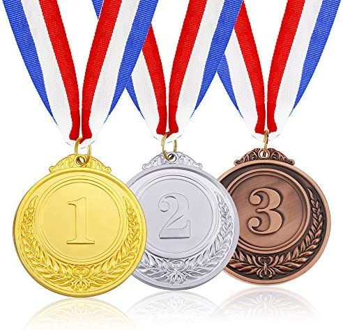 Image result for Gold, Silver, and Bronze medals