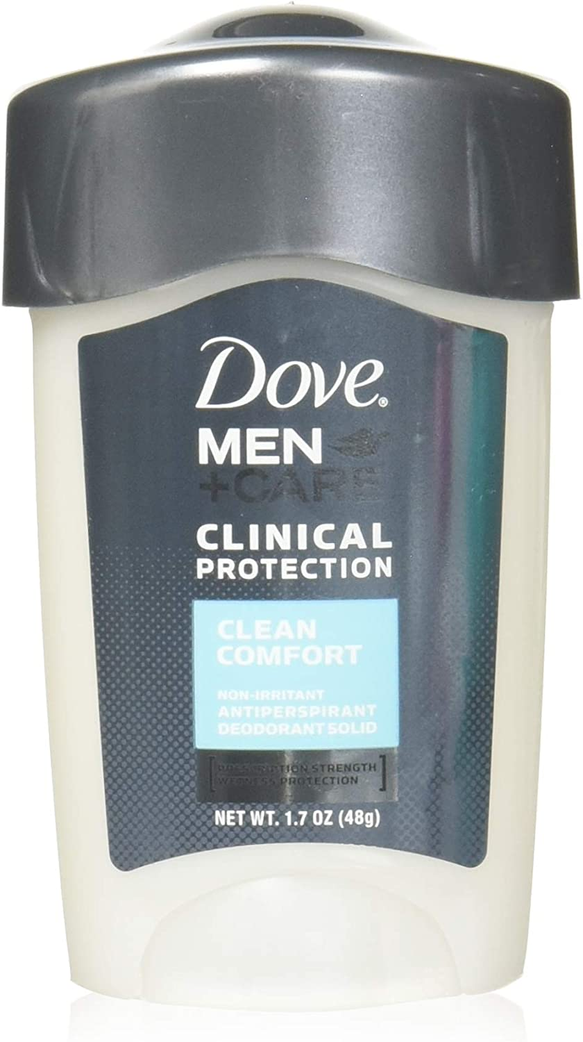 Dove Clinical Protection Clean Comfort Anti Perspirant and Deodorant, 1.7 Ounce - 3 per case.