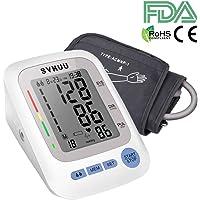 Tensiómetro de Brazo Digital, SVMUU Monitor de Tensión Arterial Pantalla LCD, Detección del Pulso Arrítmico, Manguito 22-32cm, Memoria 2 * 90, Certifica FDA, RoHS, CE