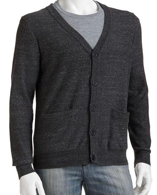 Amazon.com: Sonoma Mens Classic Fit chaqueta de punto 100 ...