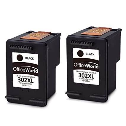 OfficeWorld 302XL Cartuchos Remanufactured HP 302 Negro ...