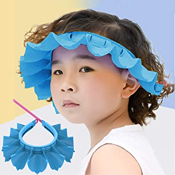Bathroom Soft Shower Wash Hair Cover Head Cap Hat.for Child Toddler Kids SP