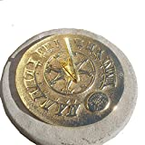 ANTIQUECOLLECTION Garden Ornaments and Accessories Sunny Days Round Brass Sundial Gift