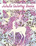 Adults Coloring Books: Horse Coloring Books,Unicorn Coloring Relaxation , Large Print Women,Girls Coloring (Women Coloring) (Volume 2)