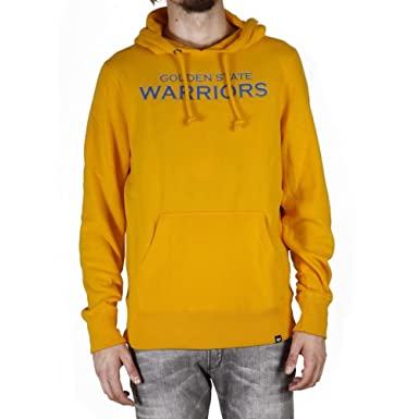 Sudadera capucha 47 Brand – Nba Golden State Warriors amarillo talla: L (Large)